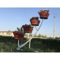 新疆景观花架 华庭美居花架款式新质量优 新疆市政花盆生产厂家