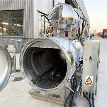 强大机械专业制造咸鸭蛋专用杀菌锅