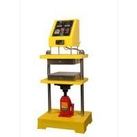 30T实验室小型平板手动硫化机操作方便