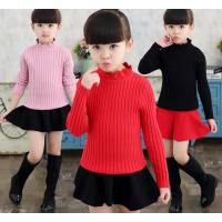便宜童装毛衣长袖儿童上衣羊毛衫3-10元小孩服装批发厂家广州童装批发厂家