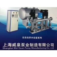 变频无负压供水设备,威泉泵业制造