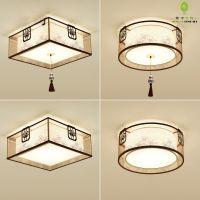 供应 新中式吸顶灯现代客厅灯LED圆形简约创意书房卧室餐厅中式灯具