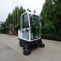 山东小林牌喷雾降尘扫地车小林全封闭式电动控尘吸扫一体型扫路车新能源户外专用型扫地机