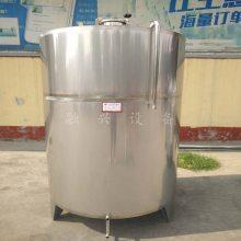 红酒发酵罐制作单位曲阜融兴白酒储液罐 储油罐 高度酒储存容器 不锈钢罐子