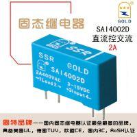 无锡固特GOLD厂家直供微型交流4脚直插式固态继电器SAI4002D