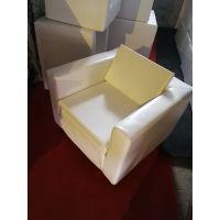 北京家具租白色单人沙发租赁 白色条形凳租赁