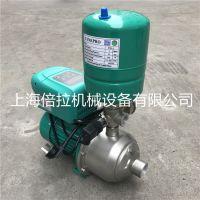 WILO/威乐不锈钢变频增压泵MHI1604卧式多级清水恒压泵2.2KW变频泵