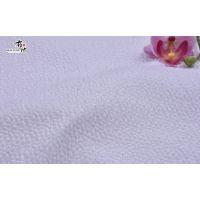 武汉新品提花花朵面料F06181布衣纺
