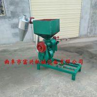 锦州多功能水稻脱壳机 富兴砂式脱皮碾米机 黄豆脱皮机多少钱一台