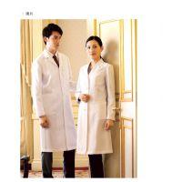 环诚实验服 美容整形医院工作服 男女白大褂长袖 白大褂定制厂家