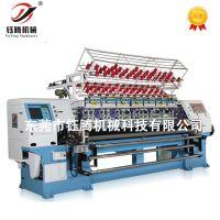 钰腾 家纺绗缝设备 高速电脑有梭多针绗缝机YGB-96-2-3