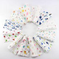 6层纱布童巾