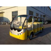 宝岛BD6142电动观光车,3-5kw功率,整车尺寸5150×1490×1825mm,额定乘员14人