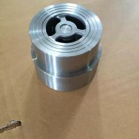 H71W-10P 不锈钢对夹止回阀 H71W 永嘉巨远阀门厂