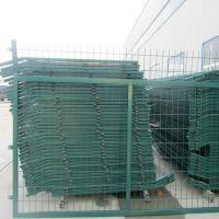 朋英 铁路浸塑隔离网 绿色铁丝网围栏 常年销售