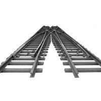 宁夏销售道岔|优质钢轨|量大从优|厂家直销|中翔