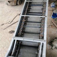 兴亚小块物料输送机 锰钢淬火工艺刮板输送机厂家