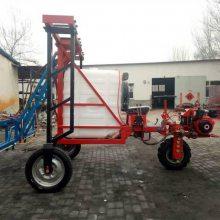 新款农用柴油打药机 自走式高架玉米打药车 喷杆式喷雾器厂家