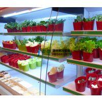 串串香火锅冷藏柜,徽点喷雾风幕柜2.5米,濮阳菜品自选展示柜风冷