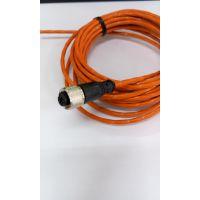 M12针型防水插头,圆形航空接插件,M12公头防水插头