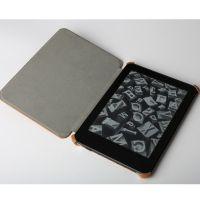 深圳电子书保护套6寸电子阅读器固定型皮革保护壳OEM工厂订做
