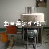 泰安 全麦面粉石磨机大卖 通达 五谷杂粮石磨面粉机 小型石磨机械