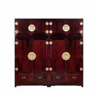 941红木网_古典中式阔叶黄檀顶箱柜 衣柜一对_东阳红木家具价格