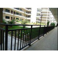 HC四平喷塑护窗围栏,钢化玻璃栏杆,四平锌合金阳台栏杆,仿木纹阳台护栏Q235,