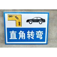 河南郑州建华驾校标志牌设计道路指示牌定制厂家