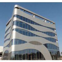 滁州造型铝单板吊顶 中庭立面铝单板
