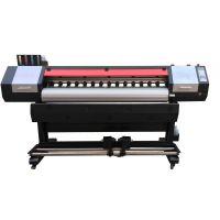 国产质量优的户外广告压电写真机 海报pp背胶打印机 双XP600喷头 速度快价格优