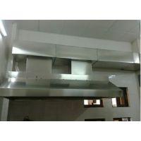 北京丰台区地下室通风新风设计,白铁皮管道加工,饭店烟道安装