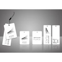 衣服吊牌标签, 规格定制