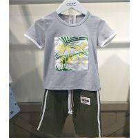 品牌夏季童装T恤厂家直销绘画画