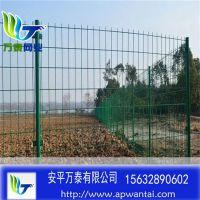 圈空地用铁丝网围栏 绿色防护网 双边丝护栏网现货