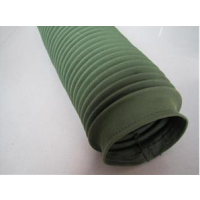 博泰专业加工定做军绿帆布圆形丝杠防护罩 防尘保护套 油缸防护罩