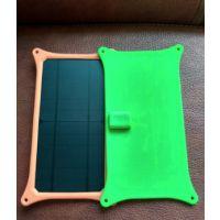 jhxt高效太阳能板 ip073户外太阳能板手机充电板 超薄便携带充电板