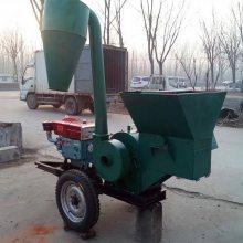 大型枯茶除尘粉碎机沙克龙玉米秸秆艾草加工打草机志成稻草粉糠机