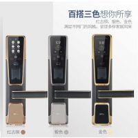 中控指纹锁ZM100密码锁家用防盗智能锁感应卡锁电子门人脸识别锁