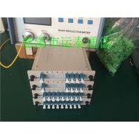 通信必用LC1分2——1分32分光器32芯小方头光分路器回损