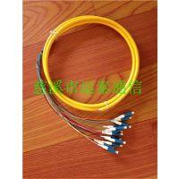 运泰LC尾纤12芯小方头LC束状尾纤外贸专供