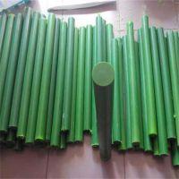 绿色尼龙棒/绿色mc含油尼龙空心棒/绿色尼龙管