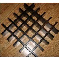 广州德普龙粉末静电喷涂铝格栅天花吊顶系统价格合理欢迎选购