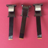 苹果IPhone无线充电3P+5V(五金头)接收插头+软排线无线公头