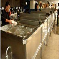 厂家直供大型鸡鸭肉解冻冻肉化冻机,肉制品解冻流水线设备 汇康机械厂家