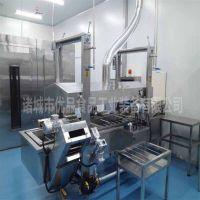 优品网带式休闲食品厂设备 鱼豆腐网带式油炸流水线