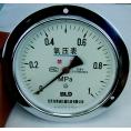 YO-100,氧气压力表,北京布莱迪BLD,专用测量氧气气体压力,山东济南现货供应