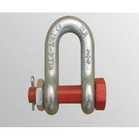 厂家生产定制美式D型卸扣 起重卸扣 高强度卸扣 模锻索具