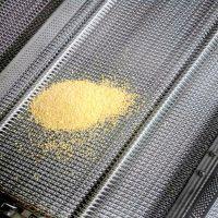 乾德机械供应304不锈钢网带 加密人字形粗丝高温网带优质厂家