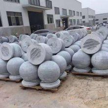 广州工程建筑芝麻灰挡车石400mm广场商场花岗石路障